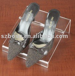 Acrylic Shoes Display,Plexiglass Shoes Stand,Lucite Shoes Shelf