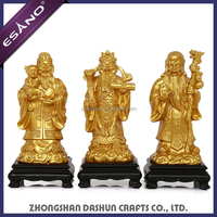 Chinese indoor decorative resin god statue