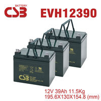 CSB [EVH12390] 12V39Ah Backup Power Car Battery