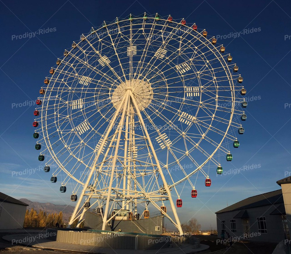 Chinese OEM professional amusement park 90m ferris wheel for sale