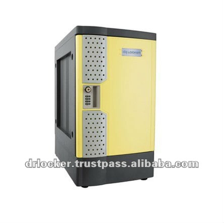 Malaysia LemonYellow Door Plastic Coin Return Locker
