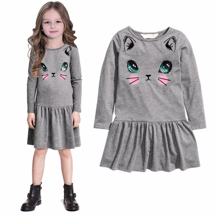 2017 Bearsland Boutique China Children Frocks Designs