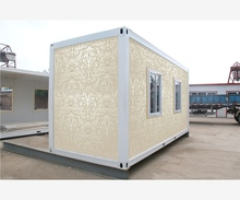Luxury new Made 20ft solar power container home plans for Pakistan