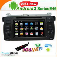 7 inch LCD Car GPS Navigation FM DVD Player for BMW E46 M3 Series