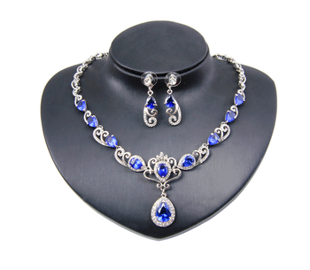 925 sterling silver&gold plated women jewelry set