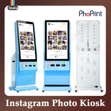 Advertising Media Shopping Mall Instant Trade Show Photo Booth Outdoor Kiosk