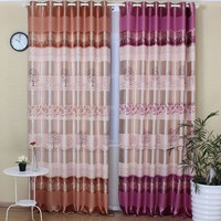 "Latest window designs 2016 Thermal Insulated Blackout Curtains fabric for living room - Bod Pocket - 52""W x 84""L.ack Tab/ R"