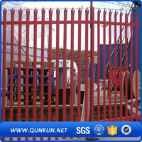 Coated Boundary Home And Garden Products High Security Palisade Fencing