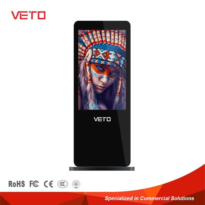 china Indoor free standing lcd advertising large advertising lcd screens