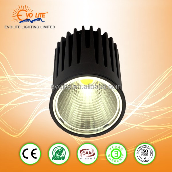 High quality best selling 10Wmodule led down light ceiling spotlight with MR16 GU10 size out ring