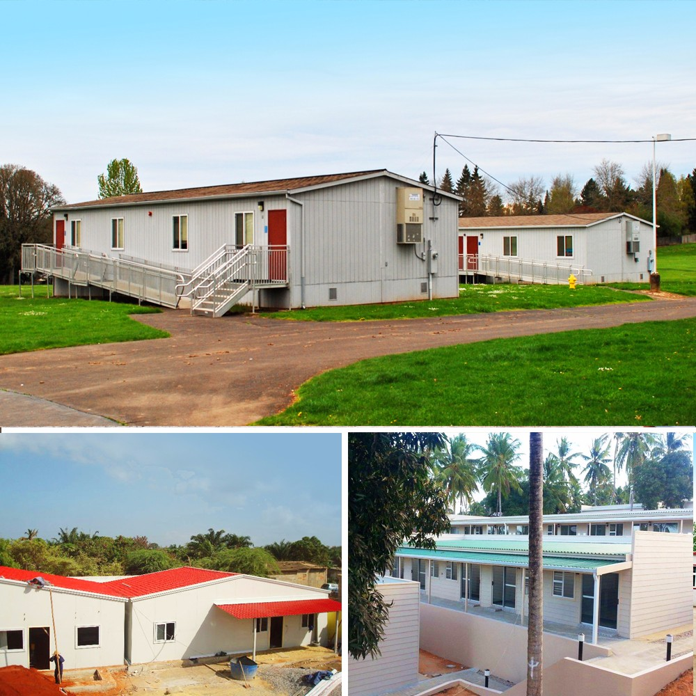 ISO certified low cost china low cost elegant prefabricated modular homes