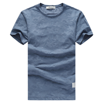 Showlands T- Shirts Product Camouflage Scoop Neck T Shirt For Men