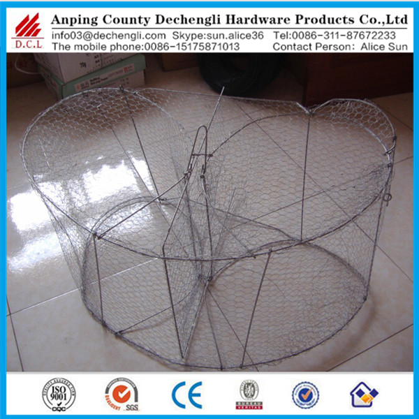 hot dipped galvanized deep sea bottom Fish trap