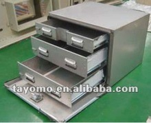 Stainless Steel Tool Box with 3 Drawers