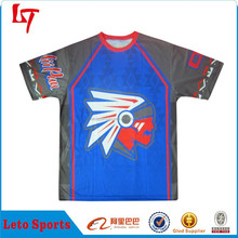 Customized men's all over sublimation printing t-shirt ow, casual shirt with logos