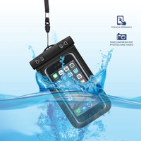 Universal Waterproof Case Cell Phone Underwater Dry Bag for iphone 6 Plus 6S Plus for Samsung Galaxy Note 5 S6 Edge Plus