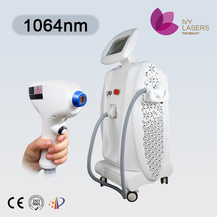 Nd yag 1064nm laser hair removal beauty machine for full body use