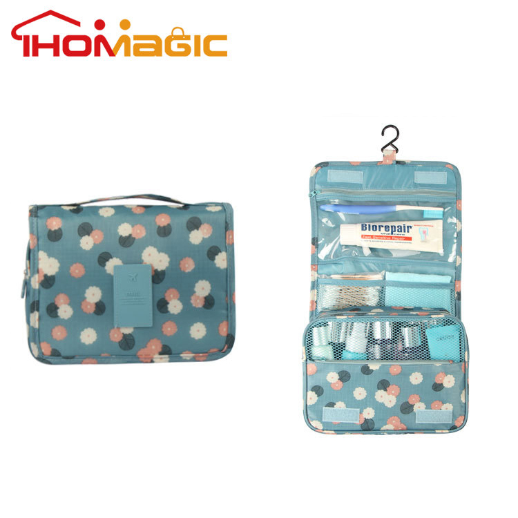 Hot popular china supplier custom hanging travel toiletry bag
