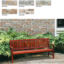 Top quality exterior elevation wall tiles Cultural Stone series 100X300mm