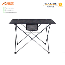 Tianye OEM outdoor Aluminum Folding Picnic Table Camping Table