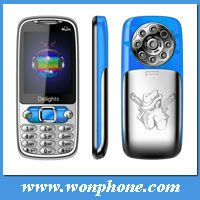 Low Cost Dual Sim Card Cell Phone Q007