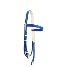 Flexible And Adjustable Pvc Horse Racing Bridle With Rosette