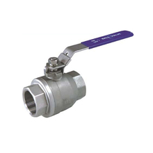 Cheap Price industrial female thread casting stainless steel ball valve with handle