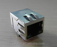 90 degree led rj45 ethernet connector with transformer RJ-409WL