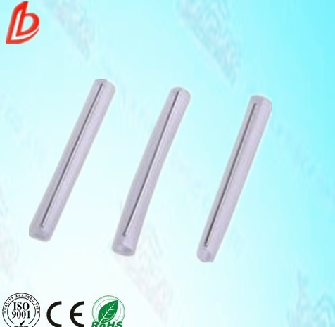 plastic fiber optic fusion splice protective sleeve/ heart shrinking tube