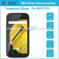 Best Selling Items Tempered Glass Screen Protector For Motorola Moto E2/E-LTE 2015 2nd Generation Anti-shutter