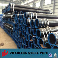 weld and seamless carbon black steel pipe astm53 BV/SGS inspection
