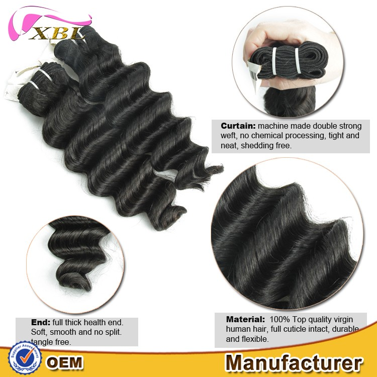 Best Supplier Top Quality Loose Deep Bundles No Chemical European Young Virgin Cuticle Aligned Hair