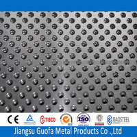 Brush Finished H32 5083 Aluminum Perforated Sheet