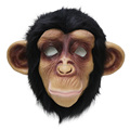 realistic masquerade Hot selling Halloween mascot costume monkey mask