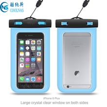 Floating Waterproof Case Swimming Dry Bag Protects your Cell Phone and valuables