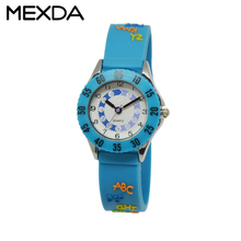 brand design childen alloy custom logo new hot sell best youth fashion japan movt waterproof silicone material watch