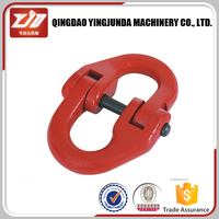 alloy steel grade 80 european type chain link connecting link marine hardware