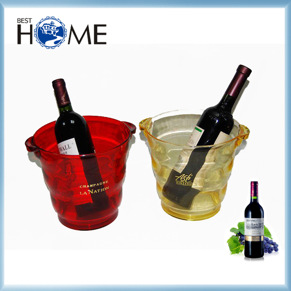 Top Quality Food Grade Plastic Large Acrylic Ice Bucket Wholesale