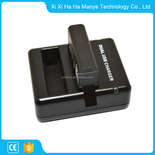 Latest new model good reputation USB Dual double Camera battery charger for gopro hero4