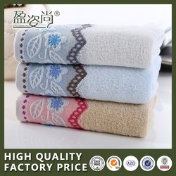 China Wholesale Microfiber Fabric 100% Printed Cotton Face Towel For Hotel