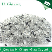 Hi Chipper Crushed mirror landscaping color terrazzo glass chips
