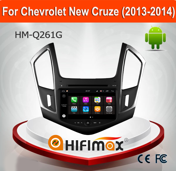 HIFIMAX Andriod 7.1 For Chevrolet Cruze(2013-2014) Touch Screen DVD Player For Chevrolet Cruze 2011 Car GPS Navigation System