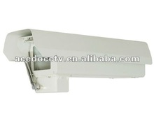 Outdoor CCTV camera housing/enclosure with rain dust wiper