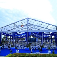 High Quality Transparent Aluminum Wedding Party Events Tent