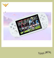 Handheld game player 64 bit cheap game console PAP-gameta II support wireless controller