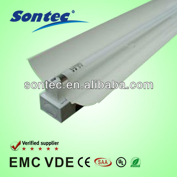 T5 fluorescent lighting fixture with big cover 14w 28w 24w 54w lighting fixture
