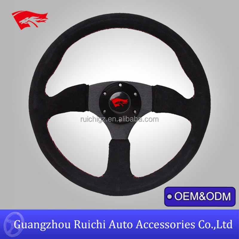 replica steering wheel for 14 deep dish sport racing