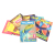 Educational Machine Material Sound English Learning Books Digital Talking Pen with Book Set