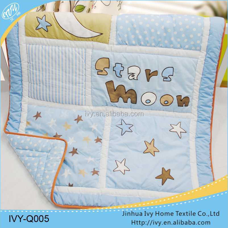 printing baby bedding set quilt printed bed sheet