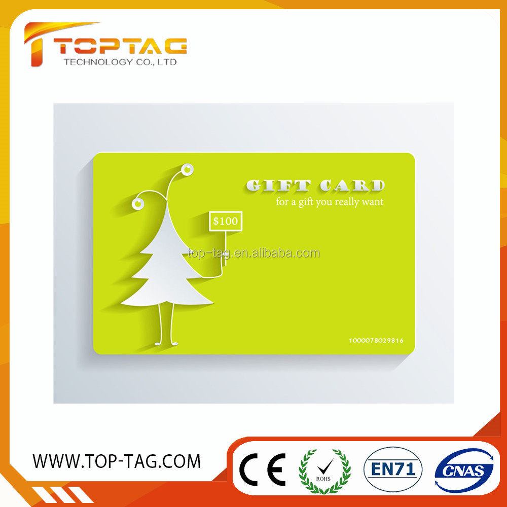 Creative Christmas Greeting Gift PVC / paper Card